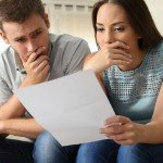 How to Review Seller's Market Offers   stressed couple