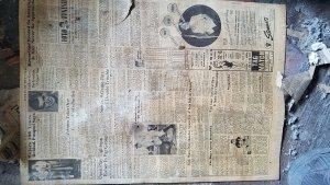 Historic newspaper 1