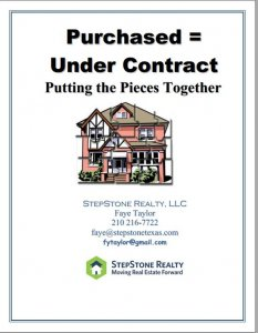 Buyers under contract by Faye Y Taylor