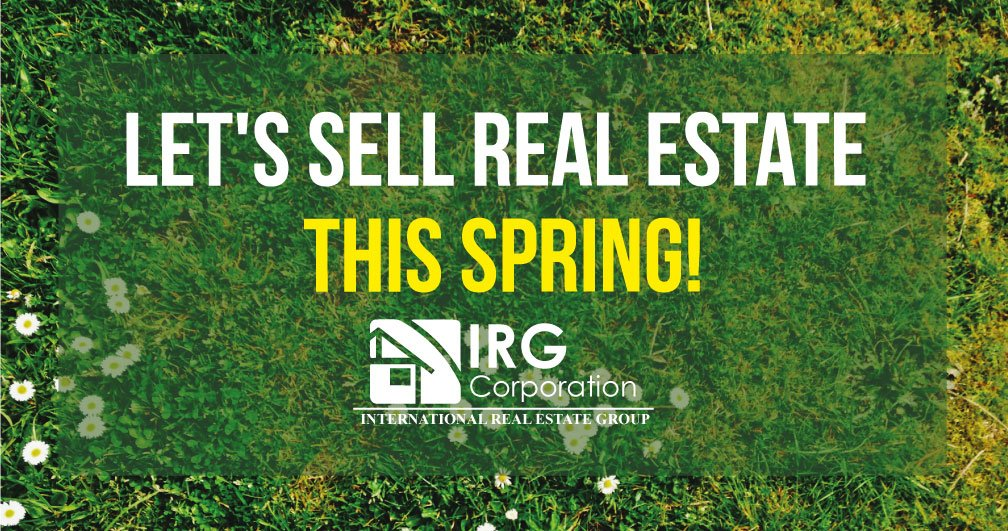 Let's SELL Real Estate this Spring!