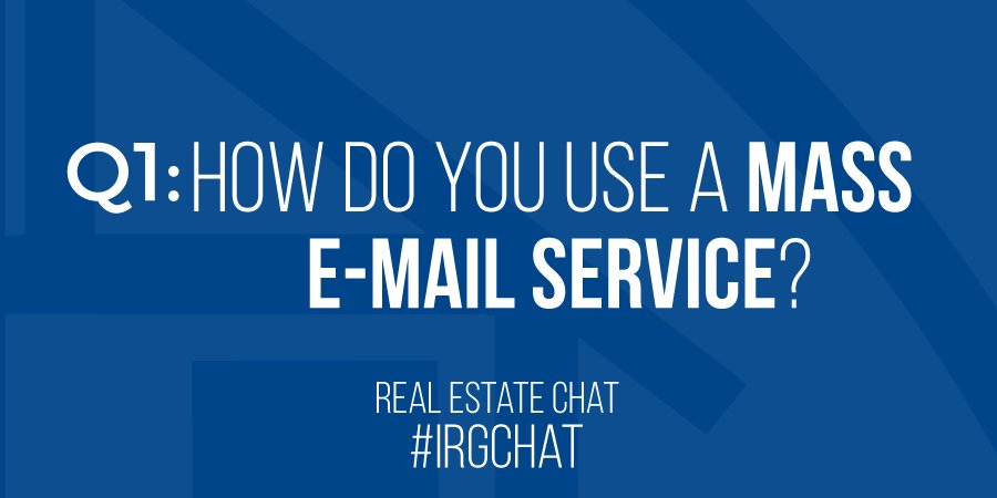 Q1: How do you use a mass E-mail service?