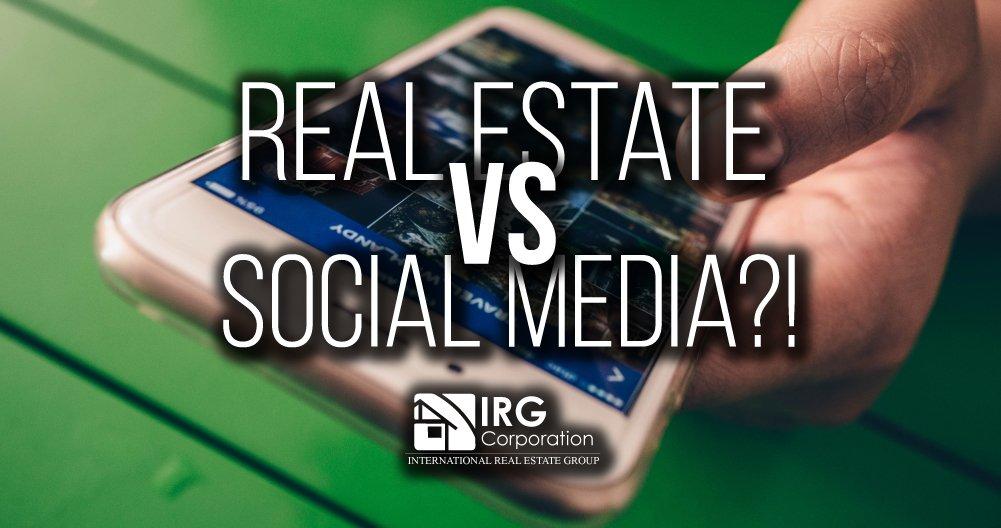 Real Estate vs Social Media?!