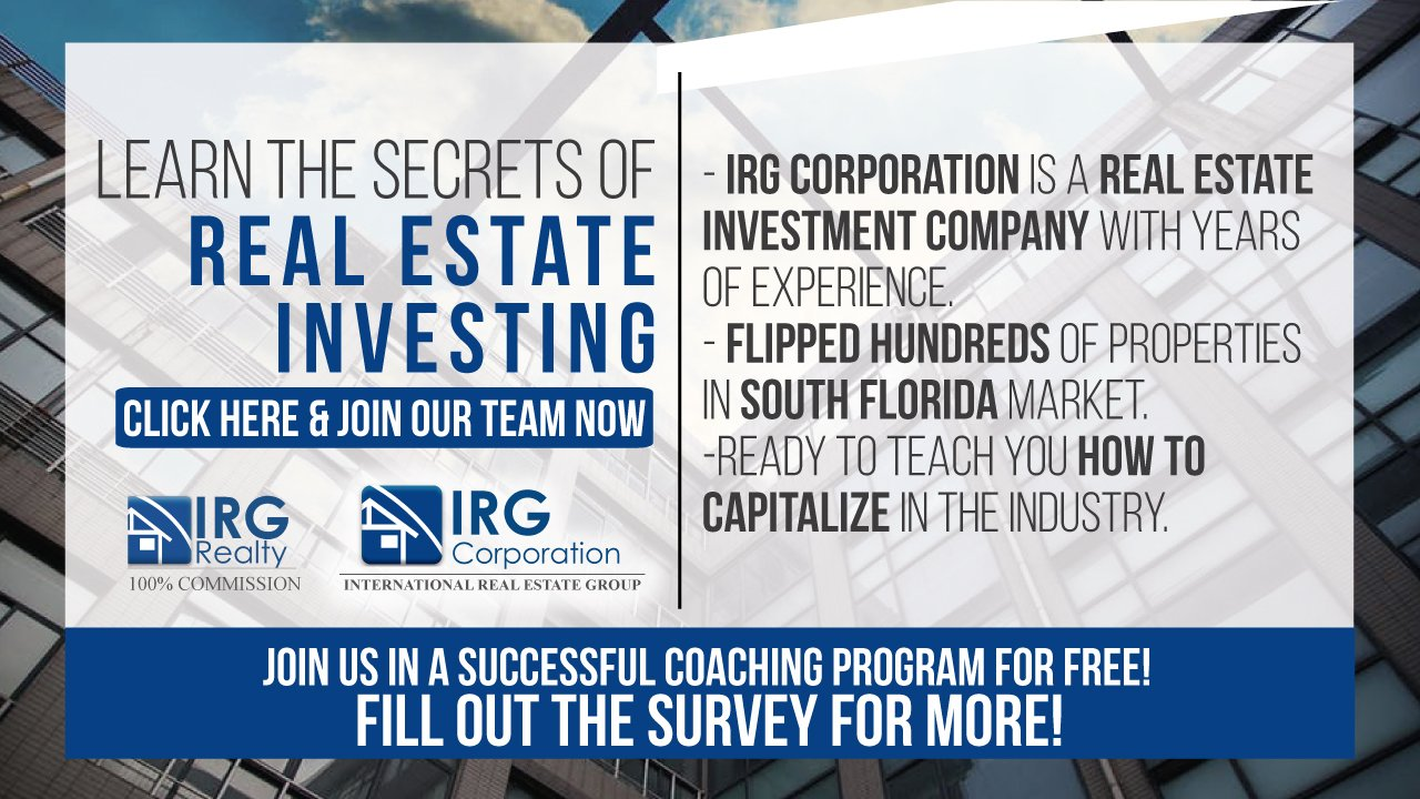 Join to IRGCorporation!