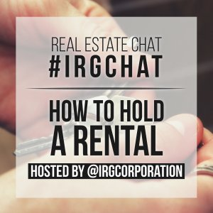 How to hold a Rental [#IRGChat]