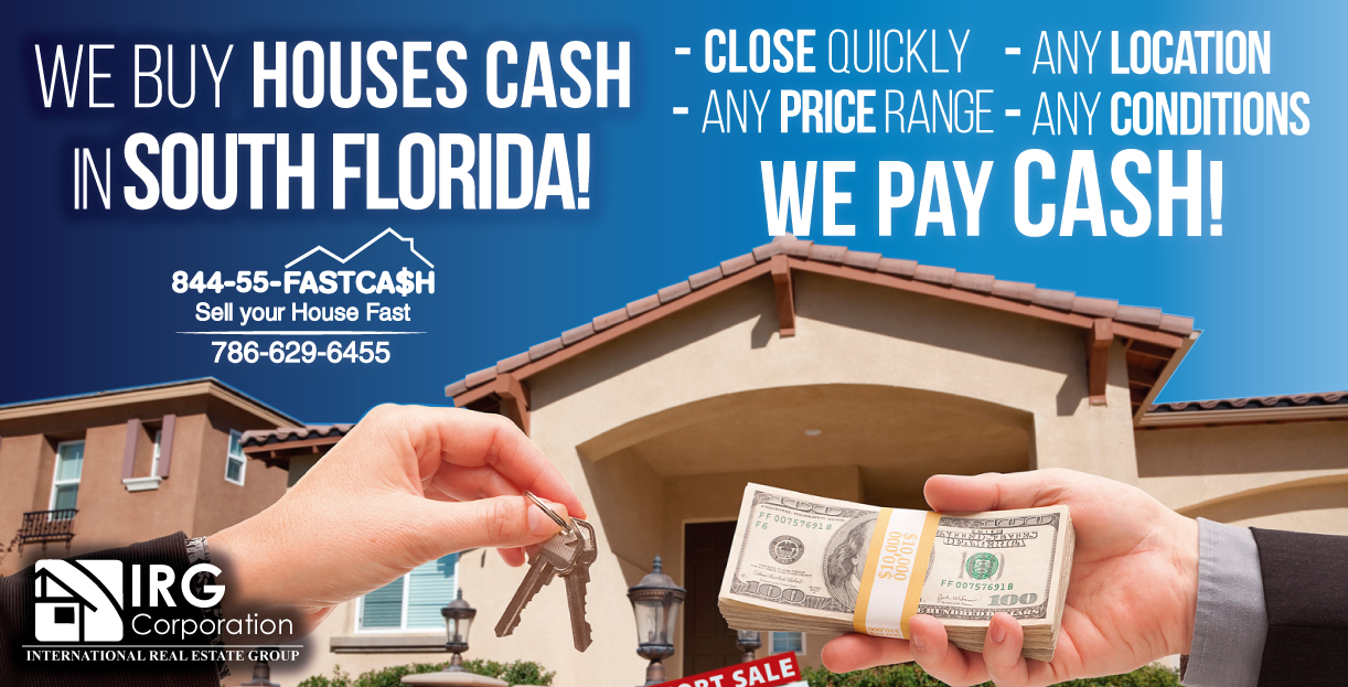 We buy houses in South Florida