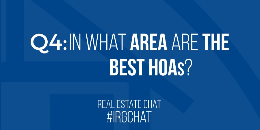 In what area are the best HOAs?
