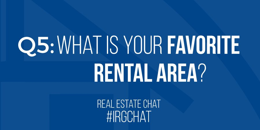 What is your favorite rental area?