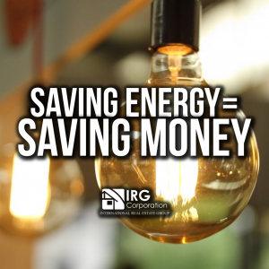 Saving energy saving money