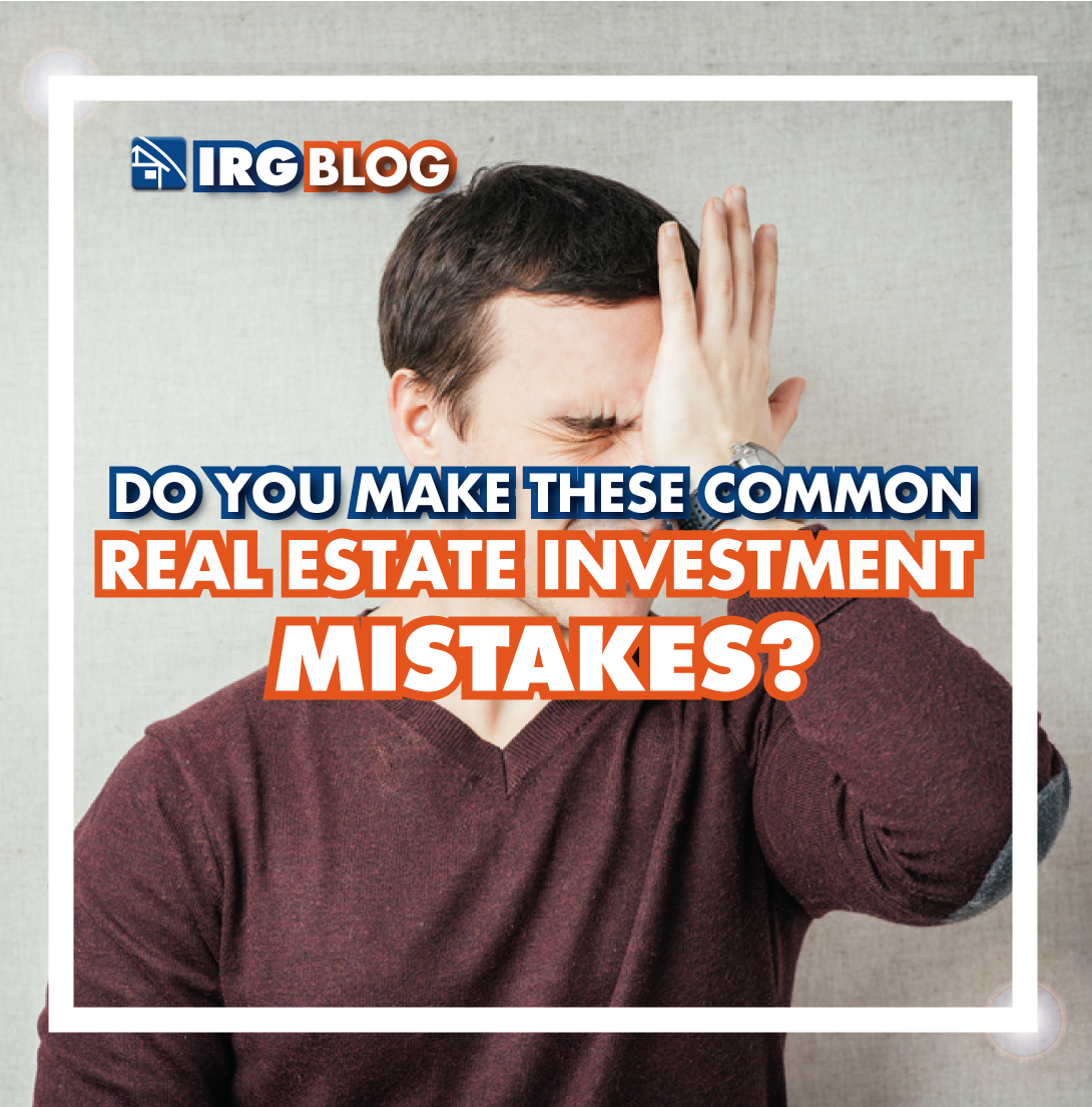 Do you make these common Real Estate Investment Mistakes?