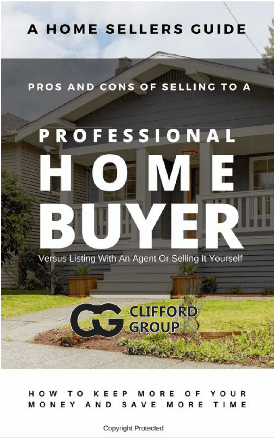 selling your Connecticut  CT house to a professional home buyer report