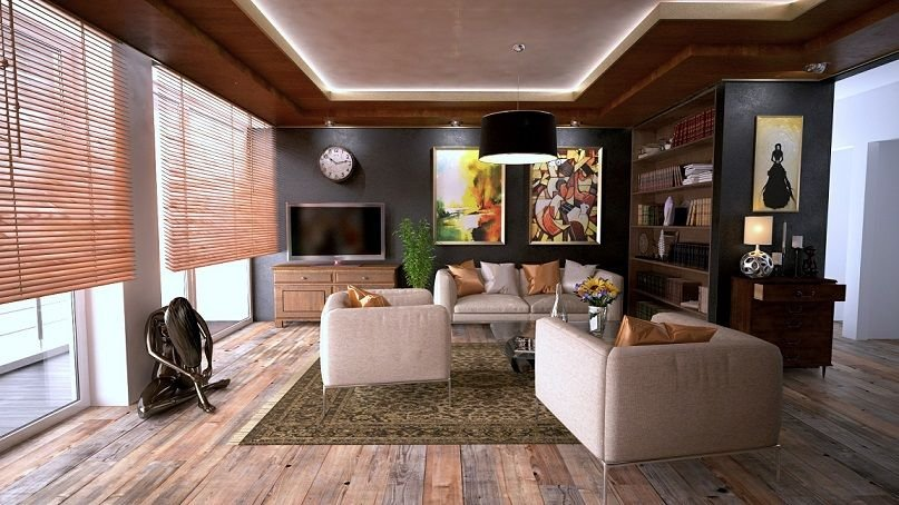 a living room you're likely to find when buying a house in oxnard