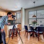 taking real estate photography in my home in Cincinnati