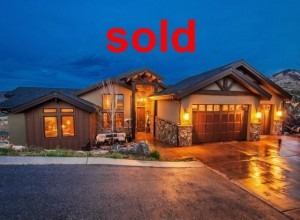 Sold home in Salt Lake City