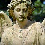Preparing to Sell an Inherited Property | concrete angel statue