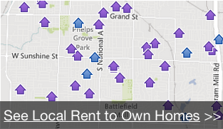 available local rent to own homes