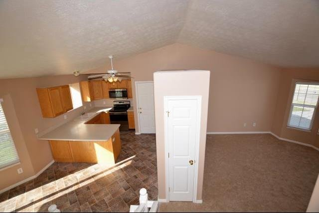 Kitchen of home in Farmington UT rent to own homes