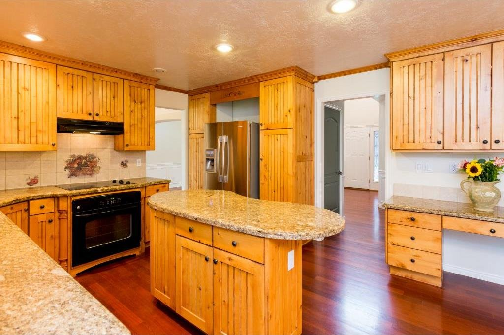 Different angle of kitchen with seller financing Alpine UT