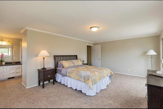 bedroom of seller financing in Murray UT