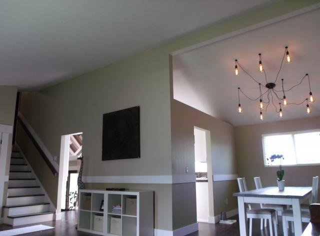 Picture of the dinning and living room with seller financing Sandy UT