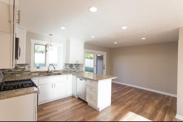 Kitchen of the home with seller financing Kaysville UT
