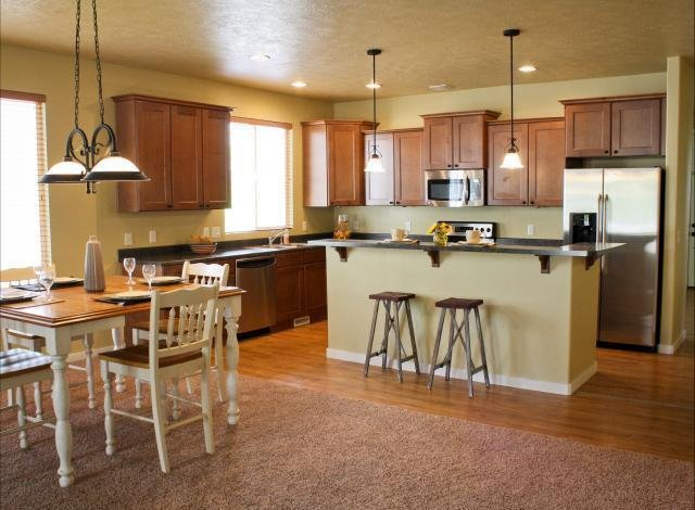 Kitchen of home in South Jordan UT rent to own homes