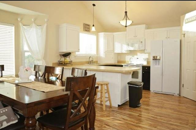picture of a kitchen that is a rent to own home in Weber County Utah
