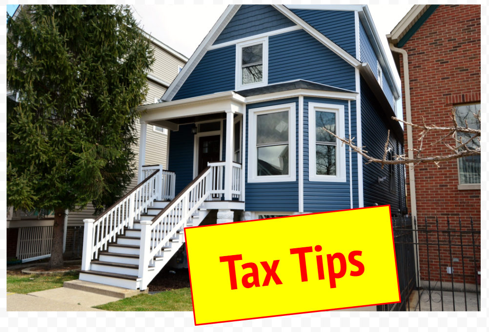 tips for taxes when you're selling a house in chicago