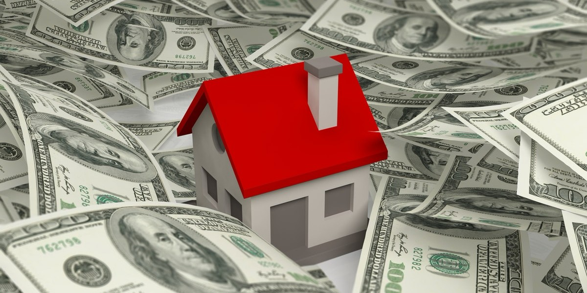 Home Buyers In | home surrounded with cash