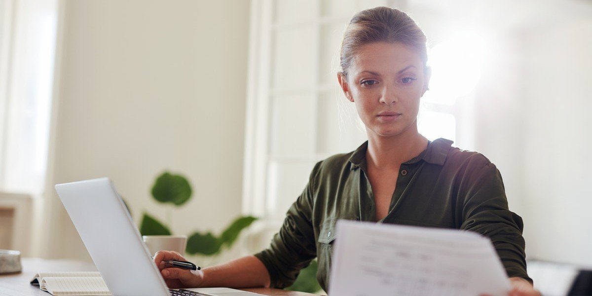 is owner financing a good idea for the seller in | woman on computer