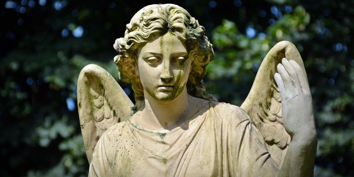 Preparing to Sell an Inherited Property | angel statue