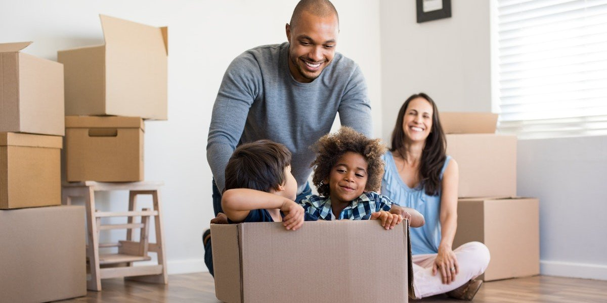 sell your house when relocating in | happy mixed family