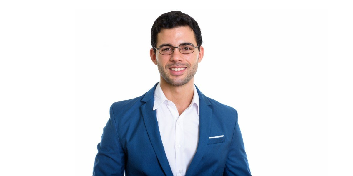First Time Real Estate Investor | businessman glasses smiling