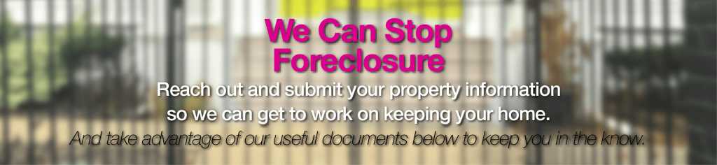 Stop my foreclosure in Connecticut