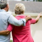 Can you get your house in | older couple woman pointing