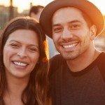Turn a Profit Flipping Property   happy hispanic couple sunset