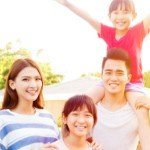 time to sell | happy asian family