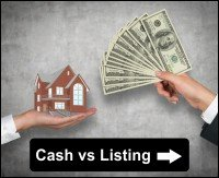 Selling to a cash buyer vs listing with a realtor in Orlando