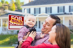 Sell my house fast Millican | College Station Texas Direct Home Buyers | Couple in front of sold house