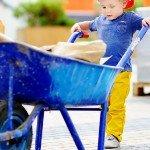 Prepare Your Inherited House For The Sale | kid pushing wheelbarrow