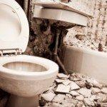 sell a house   bathroom demolition