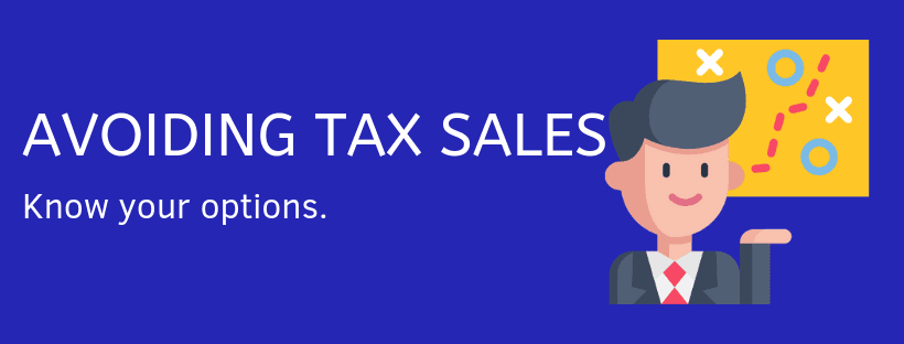Options To Avoid a Tax Sale on Your Home