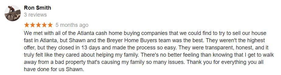 Sell My House Fast Atlanta - We Buy Houses Atlanta - Cash Home Buyers Atlanta