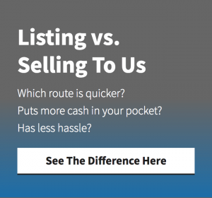 listing vs selling to an investor