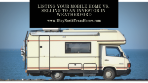 Listing Your Mobile Home