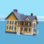 foreclosure effects in   sinking house
