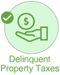 sell house delinquent property taxes