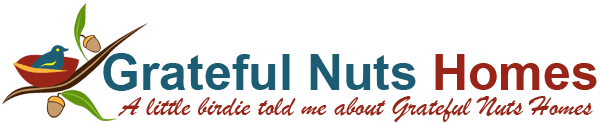 Grateful Nuts Homes logo