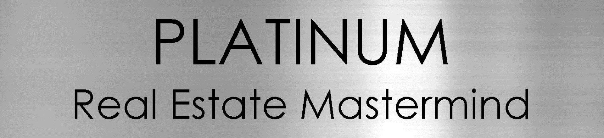 Platinum Real Estate Mastermind logo