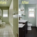 how much updating is needed to sell house in Cincinnati - bathroom remodel before and after