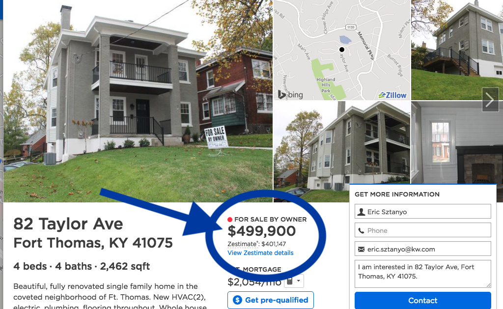 benefits of hiring an agent vs fsbo - team sztanyo - cincinnati and NKY real estate